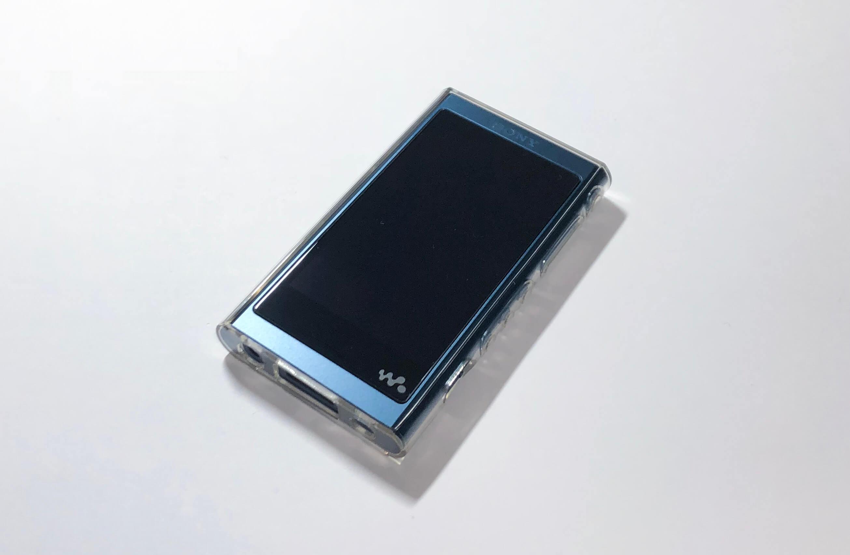 ウォークマンA50用のクリアケースはデザインを損なわない武蔵野レーベルの「Fullarmor Case」がオススメ
