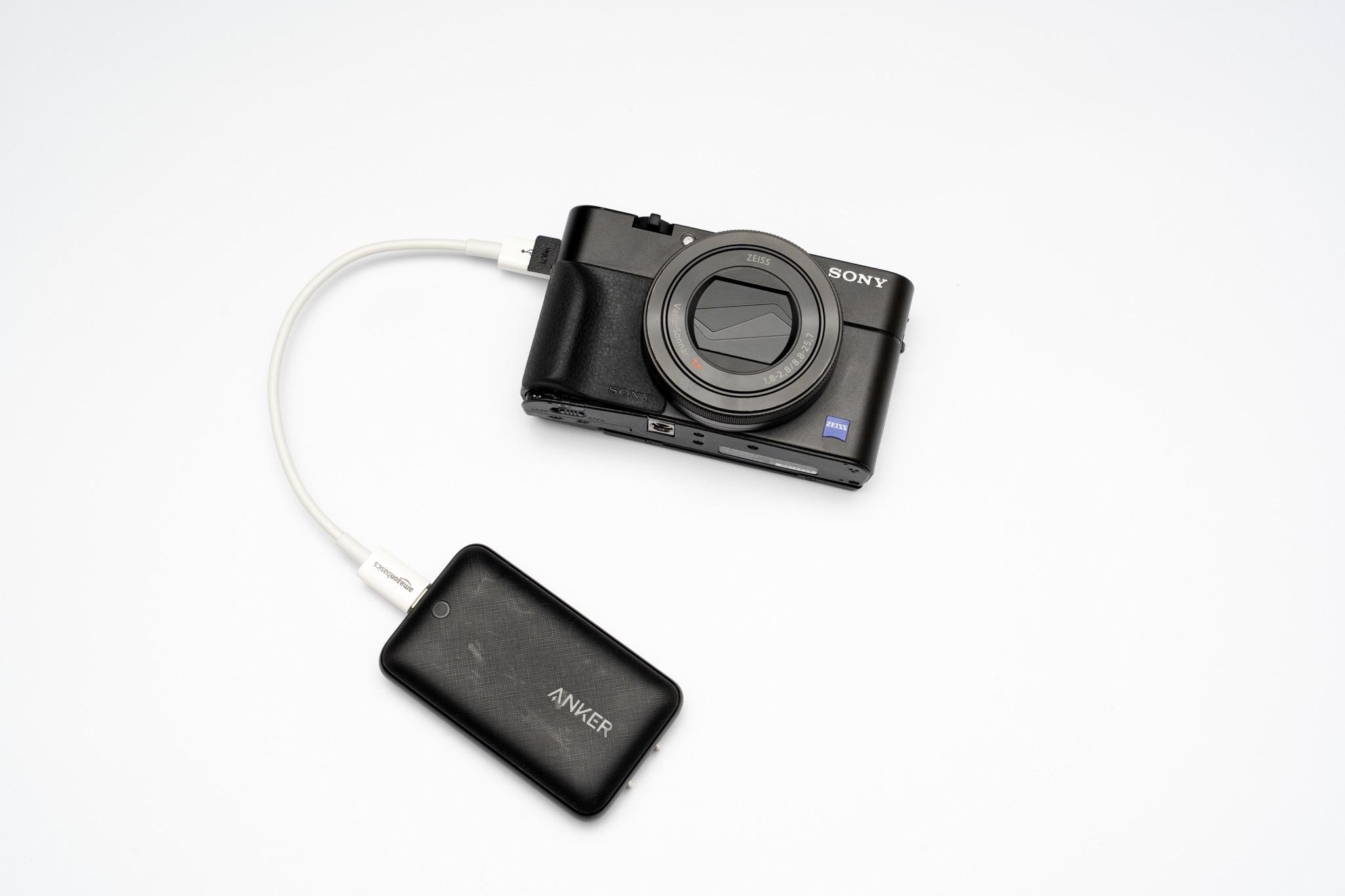 RX100シリーズの充電や写真の転送に最適!Amazonベーシックの「USB-C to Micro Bケーブル0.15m」
